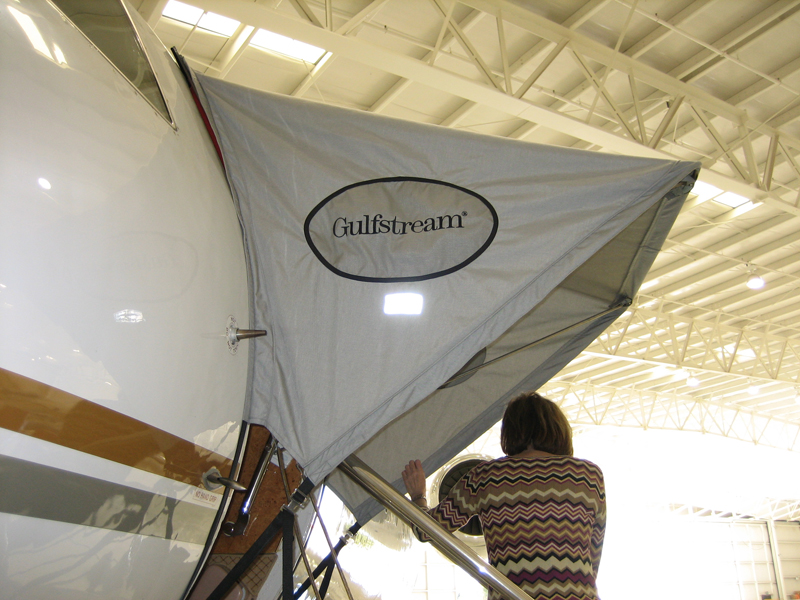 Gulfstream Aircraft Canopy Gray