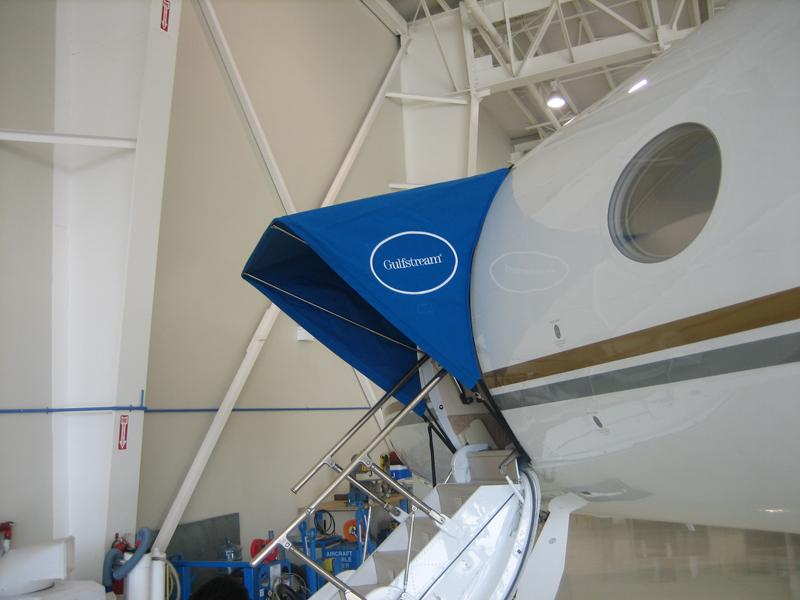 Gulfstream Aircraft Canopy Blue