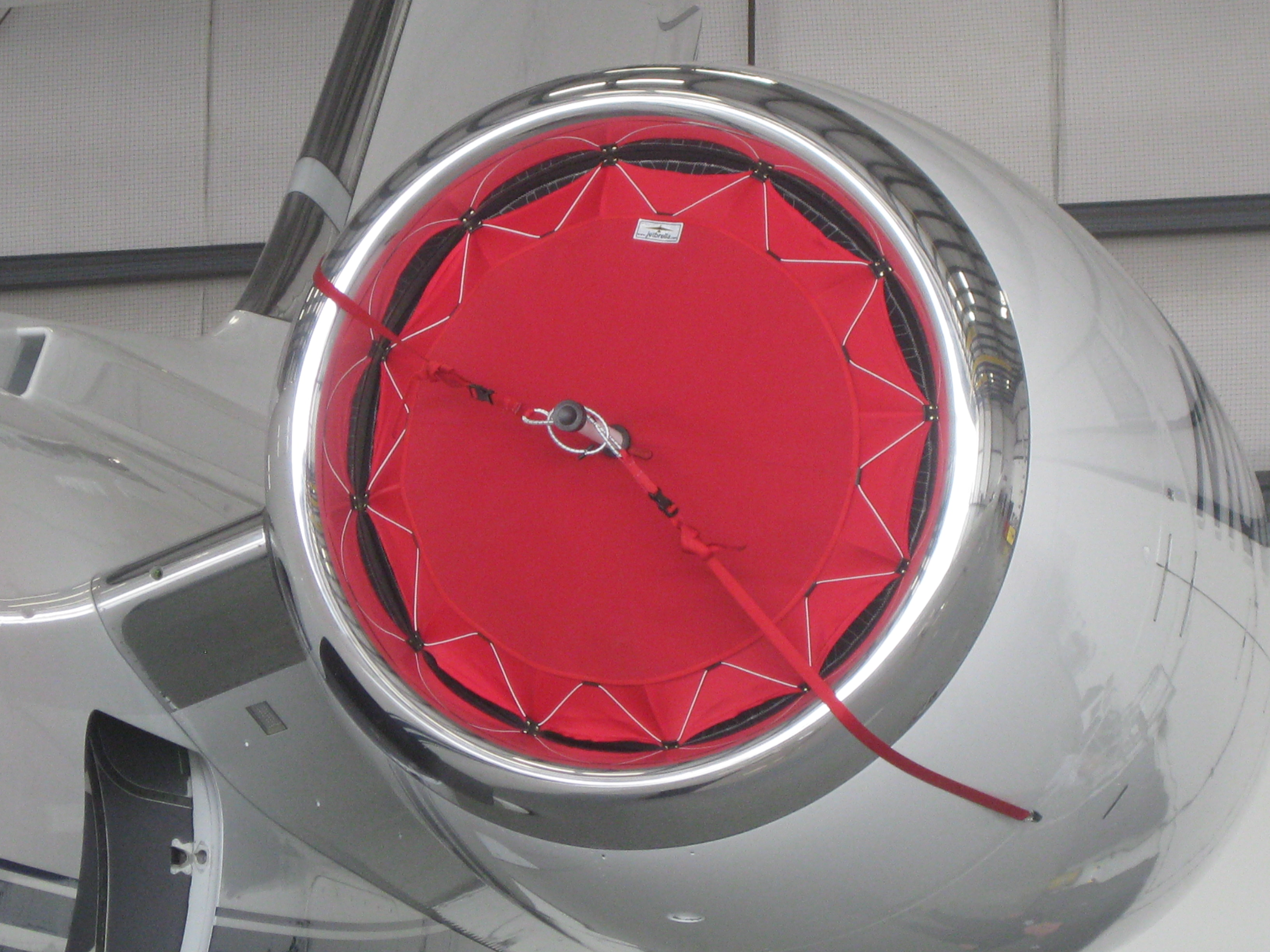 G650 Red Inlet Cover