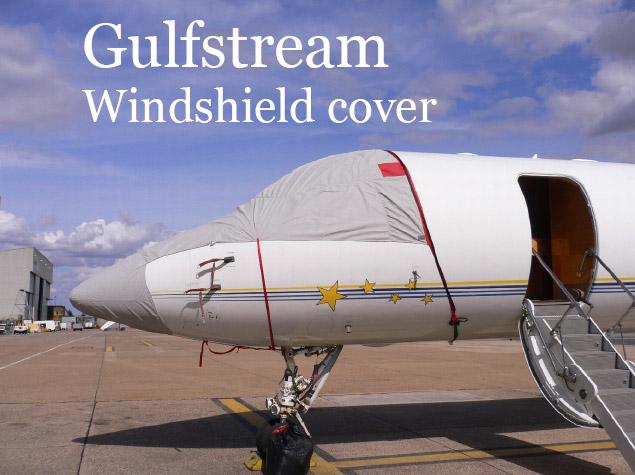 gulfstream windshield cover