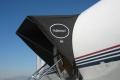 Gulfstream Aircraft Canopy Black