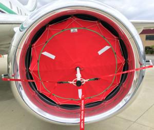 BBJ 737 inlet covers