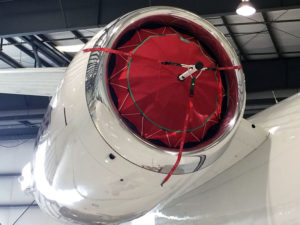 Inlet Cover for Gulfstream G450 with Tay611 Engines