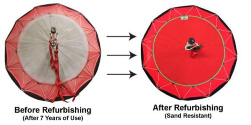 Refurbish Inlet Cover for Jet Brella