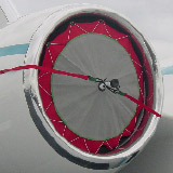 falcon 2000 ex inlet cover
