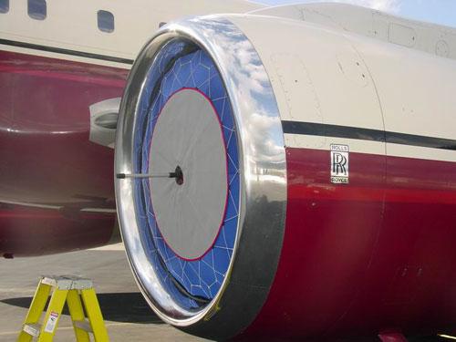 Jet Brella Engine Inlet Cover Blue