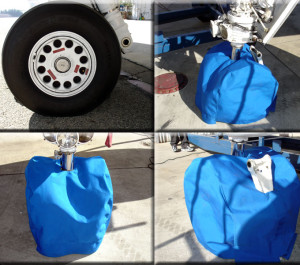 landing gear cover